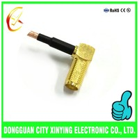 Factory Original right angle connector cable plug for rg 316