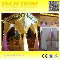 Aluminium Used Pipe and Drape For Wedding