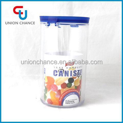 Tall Plastic Food Container