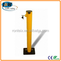 Road Parking Bollard / Manual Car Parking Space Blocker from Alibaba