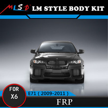High Quality Auto Tuning Styling LM Style Styling For BMW X6 Bumper X6 Bodykit E71 2009-2011