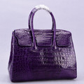 Fashion design real crocodile leather women handbags