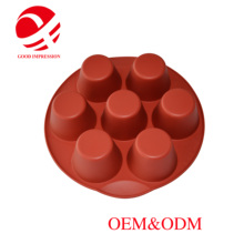 hot sale & high quality silicone cupcake form models