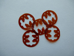Silicone die cut PI double side adhesive tape circle dots