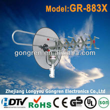 outdoor remote controlled rotating antenna GR-883X antenne tv uhf