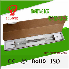 Professional Growing Bulb Manufacturer/Super Electron Double Ended 600W HPS Lamp