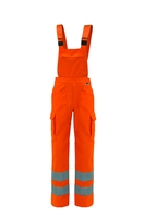 EN 343 gore-tex waterproof and breathable high visibility work trousers