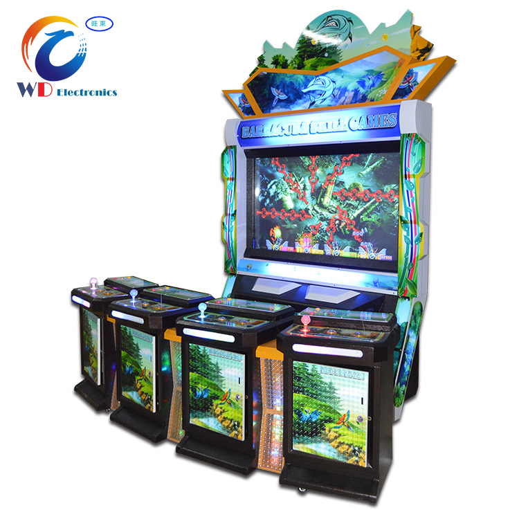 Upright cabinet Hunter Fish Table Gambling Video Game Fish Hunter Arcade Cheats
