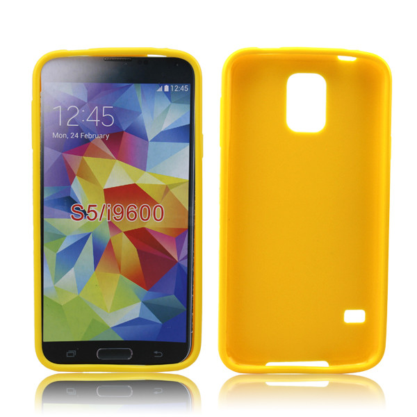 high quality Jelly soft tpu skin for samsung galaxy s5 I9600