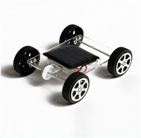 Science and technology production DIY mini solar car