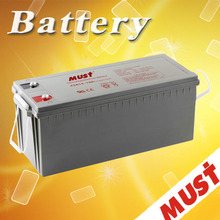 Maintenance-free long serve life 12v 180ah gel solar battery