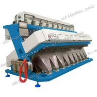 High capacity millet color sorter machine in China with resort configuration