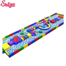 Hot selling amusement park large items playground equipment kids indoor