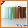 Blue Yellow Red Orange Green Tinted Laminated Glass