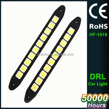 daytime running lights universal COB 12V waterproof auto led DRL