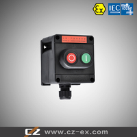 ATEX IECEX certified full plastic explosion proof local control station