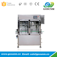 Automatic Oil Bottle Filling Machine With