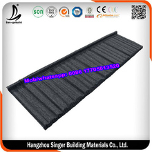 2016 Good Quality Wood Shake Shingle Building Materials Stone Coated Roof Tile For House