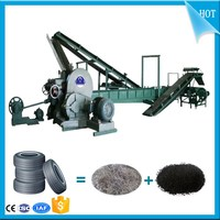 Professional Waste tire crushing machine_Used tire recycling equipment Manufacturer