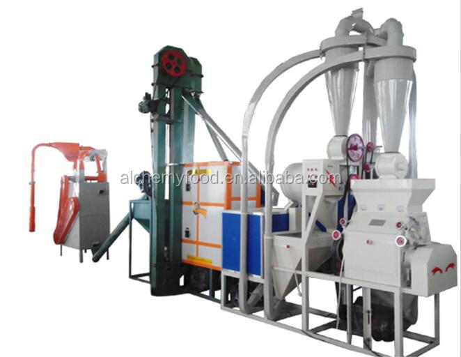 agriculture wheat corn machine maize grain flour making//milling/packing/grinding machine price china supplier