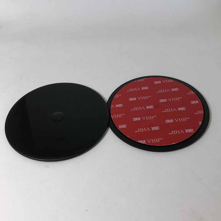 Nice Quality 95mm Car GPS DVR Suction Cup Mount Disc Black Glue 3M VHB Adhesive Pad Plate for dashboard