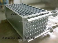 stainless aluminum Fin tube heat exchanger