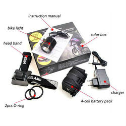 bikelight 1200 lumens rechargeable bike light signal