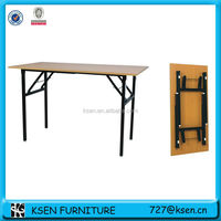 Simple cheap folding dining table KC7652