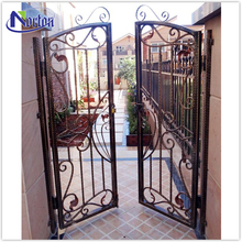 Custom cheap wrought iron gates for family use NTIG-117Y
