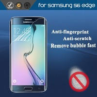 Cell phone accessories frosted screen protector for samsung galaxy S6 edge