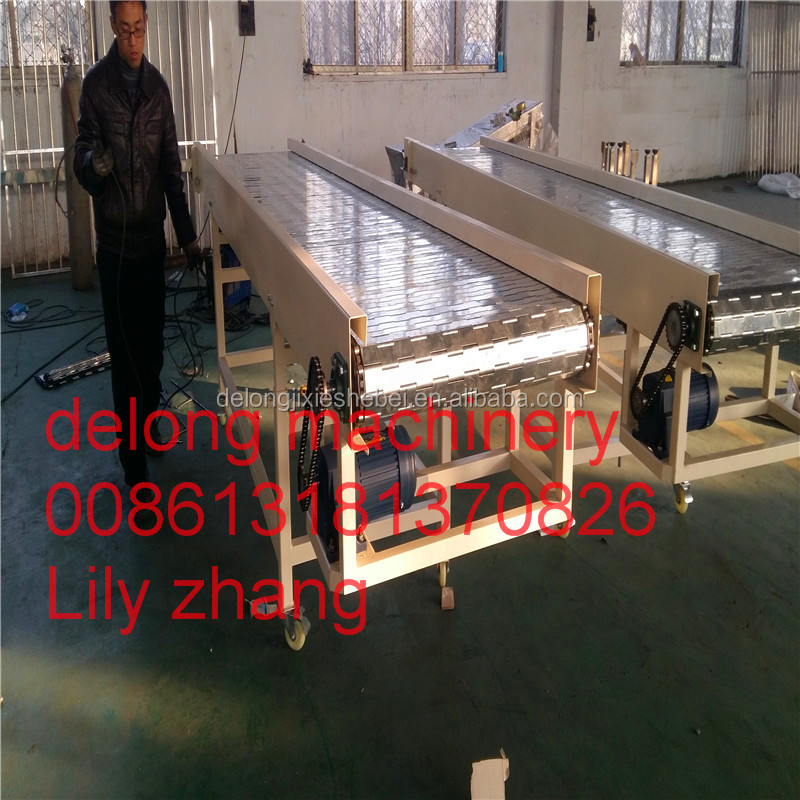 China chip conveyor for CNC turning machine /chain plate conveyor