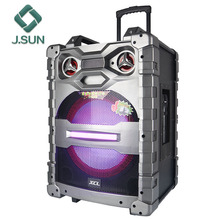 New product audio 15 inch trolley party pa subwoofer speaker box