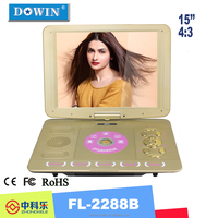 "manufacture wholesale home video player 15"" Movis DVDs Cheap Portable DVD/EVD Player Price for Kids DVD with TV"