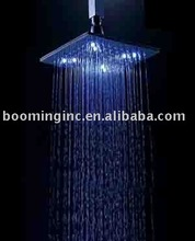BRASS LED RAIN SHOWER(YS-LED1930-8B),temperature control water tap light,no battary