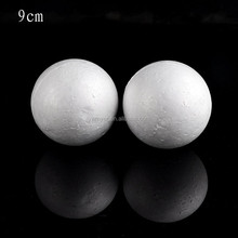 90mm Polystyrene styrofoam Ball craft ball for Christmas tree decoration DIY and wedding