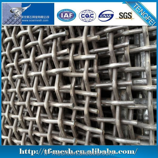 Woven Wire security screen, sand and crusher screen (Steel Wire & S.S WIRE ISO 9001)