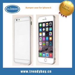 New arrival Gcase brand invisible bumper case for iphone 6