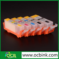 OCBESTJET 6 color ciss refill ink cartridge with ARC chip PGI-570 CLI-571 for Canon PIXMA MG7750 mg5750 mg6850 printer