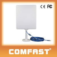 COMFAST CF-N300 Long Range Wireless Adapter OEM Long Range Outdoor High Power 36dBi Panel Directional Antenna Wifi USB Adapter