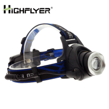 Focusing aluminum Direct recharge battery pack 4400mAh elastic head belts 500 lumens weather resistance bike sports head lamp