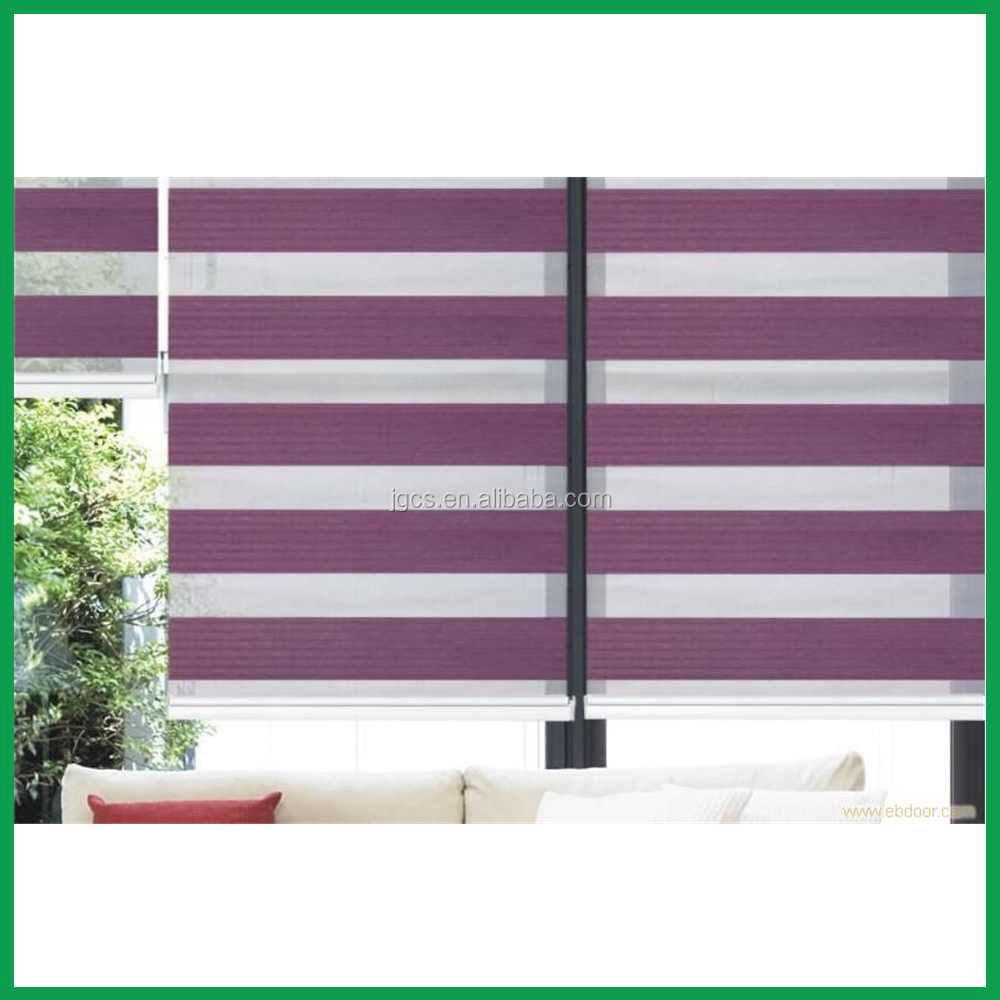 manual with cord solid color zebra one way window blinds for roller blind fabric general black out window blinds