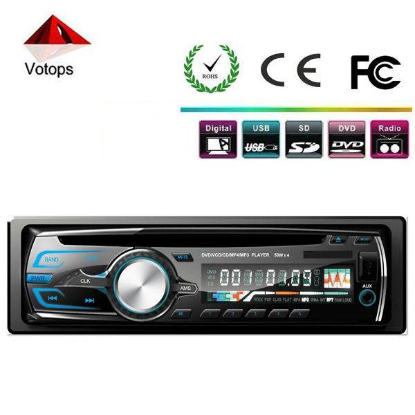 model 9556 car cd player with aux input,mp3/mp4