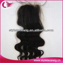 wholesale silk top brazilian hair lace closure
