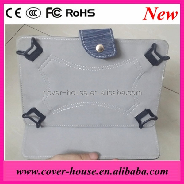 New Arrival Universal Jeans Leather Protective Case for 7inch Tablet PC