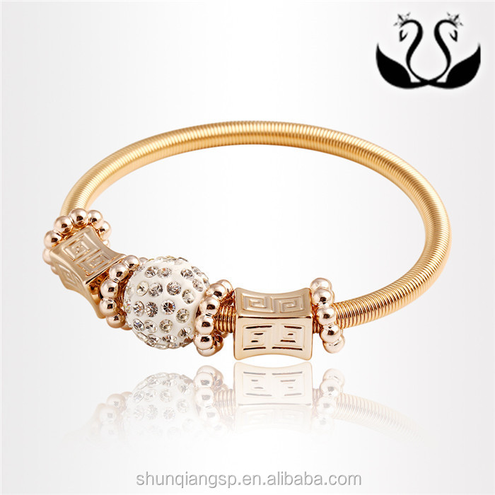 Manufacturers selling novel alloy shamballa bracelet