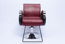 Cheap styling salon furniture beauty portable red barber chair