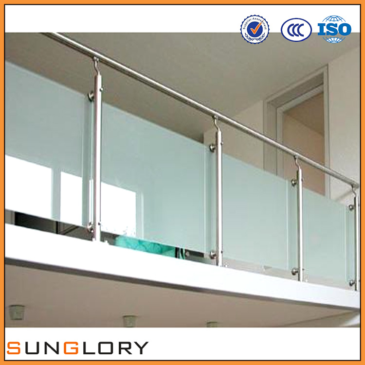 Indoor Balcony Railing with BV CE Indoor Glass Railing