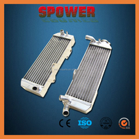 Aluminum Motocross radiator For HONDA CR125 1990-1991