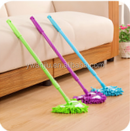 180 Degree Rotatable Triangle Clean Dust Mops