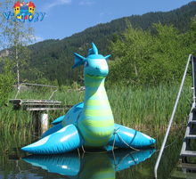 Mascot cartoons costumes advertising inflatable sea dragon